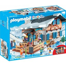 Playmobil Playmobil Winter Sports Ski Lodge