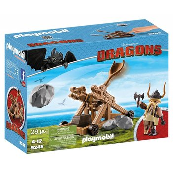Playmobil Dragons: Gobber with Catapult