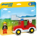 Playmobil Playmobil 123 Ladder Unit Fire Truck