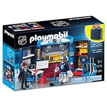 Playmobil Playmobil NHL Play Box: Locker Room