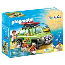 Playmobil Playmobil Off-Road SUV with Kayak