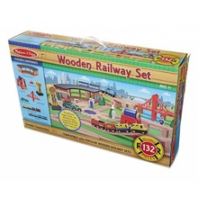 Melissa & Doug Melissa & Doug Railway Train Set