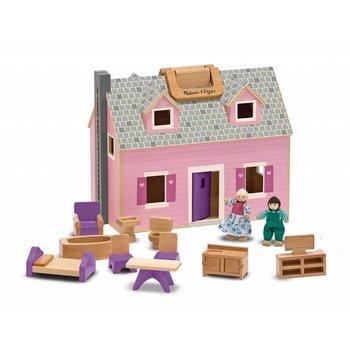 Melissa & Doug Doll House Fold & Go