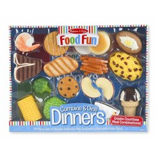 Melissa & Doug Melissa & Doug Play Food Fun Food Dinners