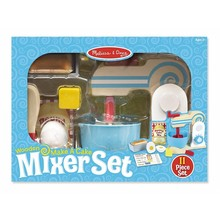 Melissa & Doug Melissa & Doug Play Food Make A Cake Mixer Set