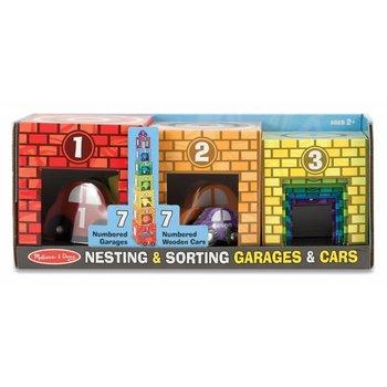 Melissa & Doug Nesting & Sorting Garages & Cars