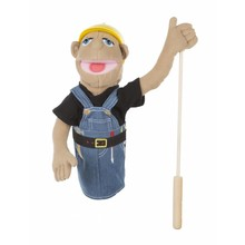 Melissa & Doug Melissa & Doug Puppet Construction Worker