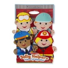 Melissa & Doug Melissa & Doug Hand Puppets Jolly Helpers