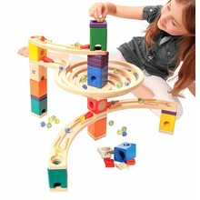 Quadrilla Marble Runs Quadrilla Marble Run Roundabout Set