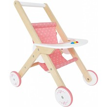 Hape Toys Hape Doll Furniture Wood Stroller