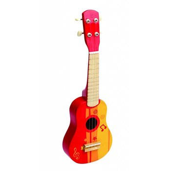 Hape Toys Early Melodies Ukulele Red