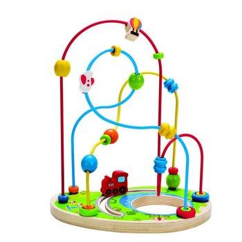 Hape Toys Bead Maze Playground Pizzaz