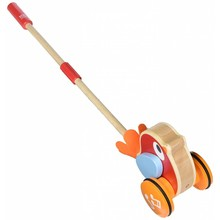 Hape Toys Hape Push Along: Lilly Musical Bird