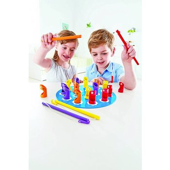 Hape Toys Game Bamboo Shark Fishery