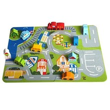 Hape Toys Hape Busy City Play Set