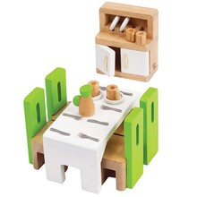 Hape Toys Hape Wooden Doll House Furniture: Dining Room
