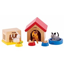 Hape Toys Hape Wooden Doll House Furniture: Pets
