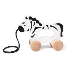 Hape Toys Hape Push & Pull Zebra