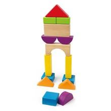 Hape Toys Hape Qubes City Planner Blocks