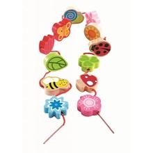 Hape Toys Hape Qubes Lacing Spring Qubes