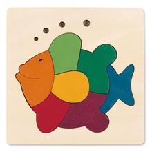 Hape Toys Hape Puzzle George Luck 8PC Rainbow Fish