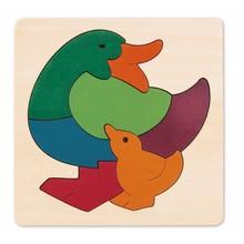 Hape Toys Hape Puzzle George Luck 8PC Duck