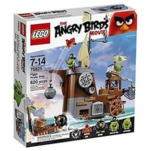Lego Lego Angry Birds Piggy Pirate Ship