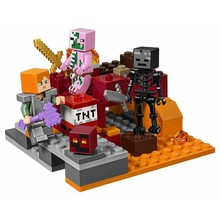 Lego Lego Minecraft The Nether Fight