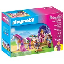 Playmobil Playmobil Princess Royal Couple with Carriage
