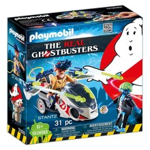 Playmobil Playmobil The Real Ghostbusters Stantz with Skybike