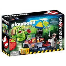 Playmobil Playmobil Ghostbusters Slimer with Hot Dog Stand