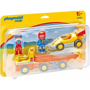 Playmobil 123 Tow Truck with Race Car