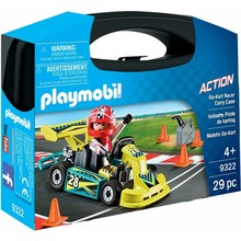 Playmobil Playmobil Carry Case: Go-Kart Racer
