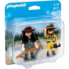 Playmobil Playmobil Duo Pack Ranger and Hunter