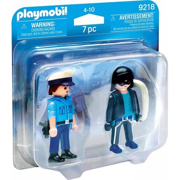 Playmobil Duo Pack Policeman and Burglar