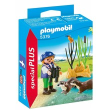 Playmobil Playmobil Young Explorer with Otters