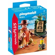 Playmobil Playmobil Special Cowboy with Wanted Poster