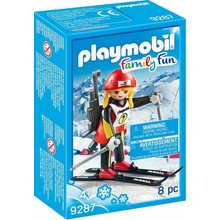 Playmobil Playmobil Winter Sports Female Biathlete
