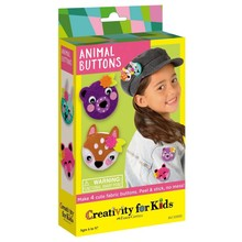 Creativity for Kids Creativity for Kids Mini Animal Buttons