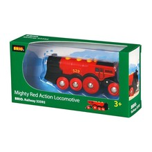 Brio Brio Train Mighty Red Locomotive