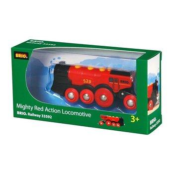 Brio Train Mighty Red Locomotive