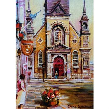 Ravensburger Puzzle 1000pc Canadian Church in Montreal