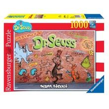 Ravensburger Ravensburger Puzzle 1000pc Suess Street