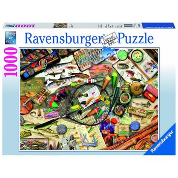 Ravensburger Puzzle 1000pc Fishing Fun