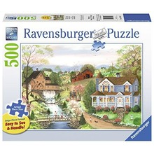 Ravensburger Ravensburger Puzzle 500pc Large Format The Fishing Lesson