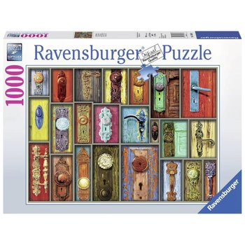 Ravensburger Puzzle 1000pc Antique Doorknobs