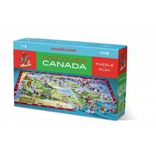 Crocodile Creek Crocodile Creek Puzzle 100pc Discover Canada