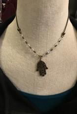 InspireDesigns Hamsa Necklace