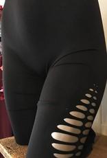 NikiBiki diamond cut out leggings