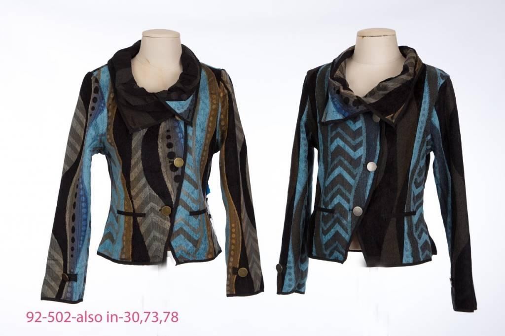 I-Reversibles Fold Over Jacket